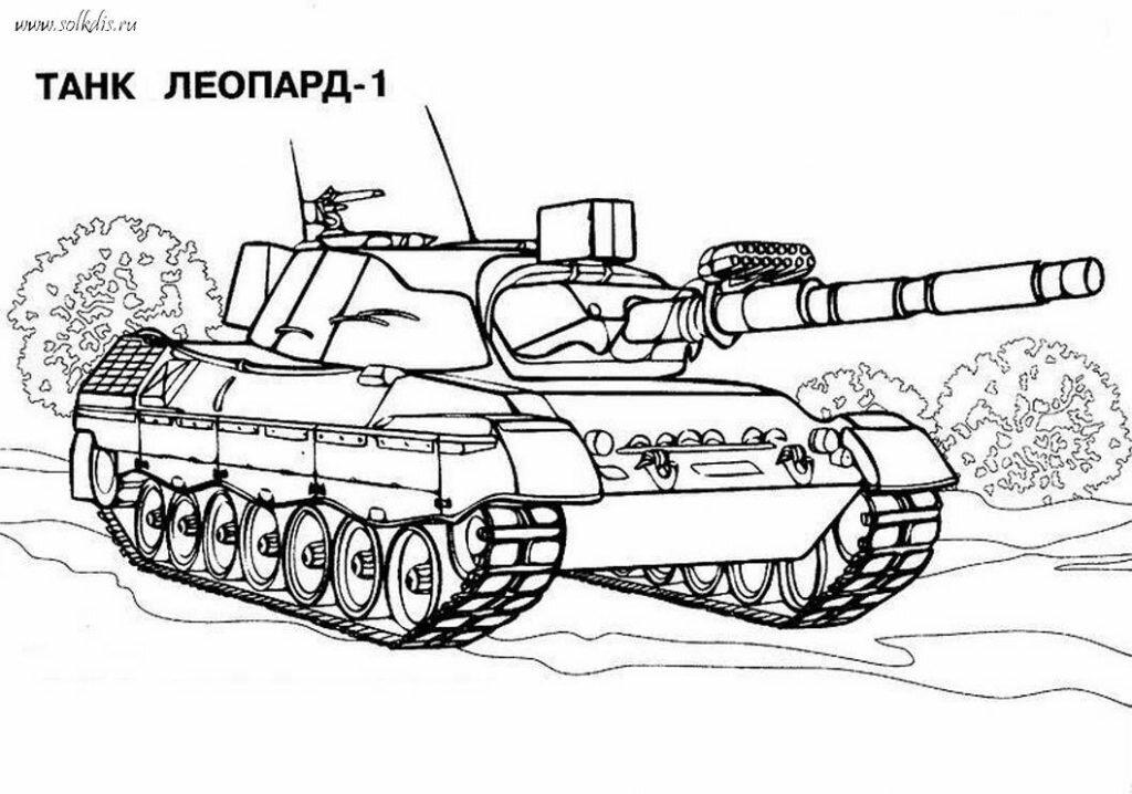 """Раскраски для детей """"Военная техника"""" – Муниципальное ..."""